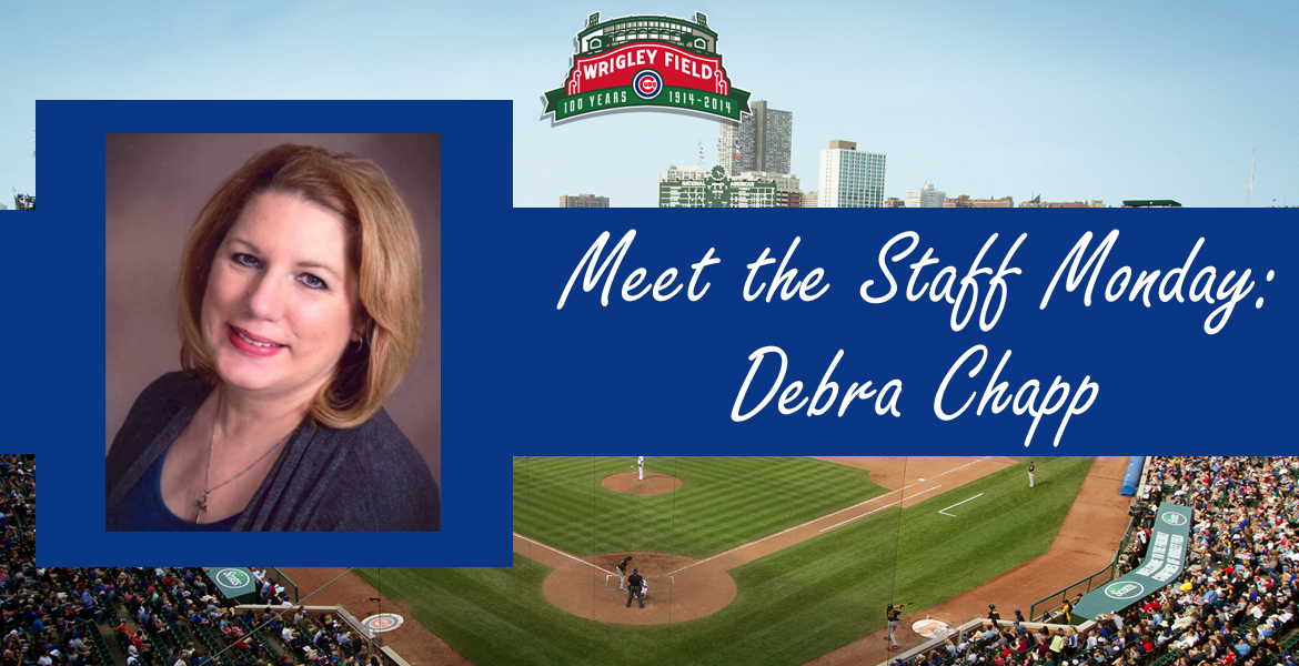 Meet the Staff Monday with Debra Chapp