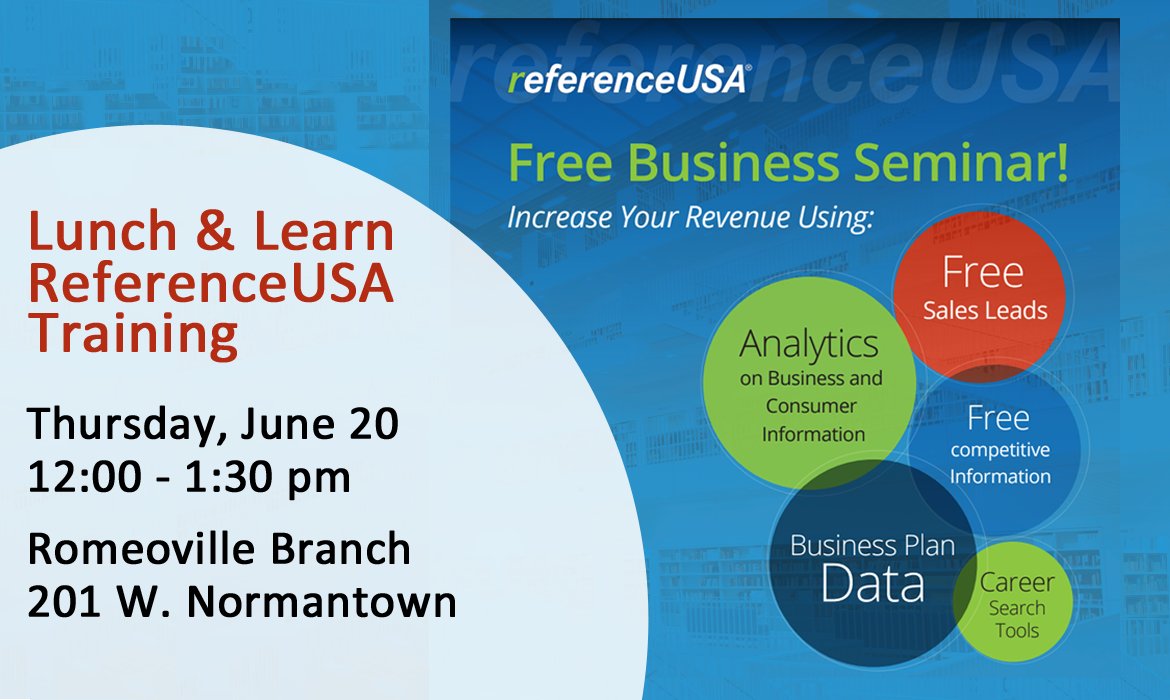 Lunch & Learn ReferenceUSA Training