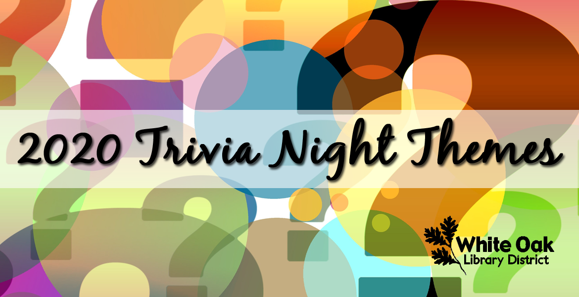 Trivia Night Themes for 2020